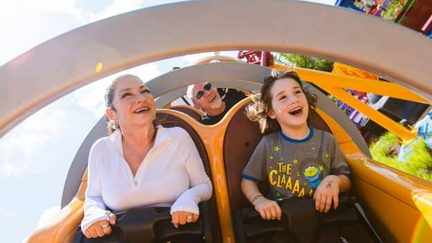 Gloria & Emilio Estefan in Toy Story Land
