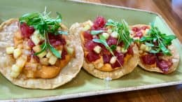Spicy Ahi Tuna Tostadas