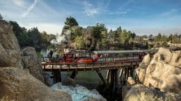 Disneyland Railroad at Disneyland Park