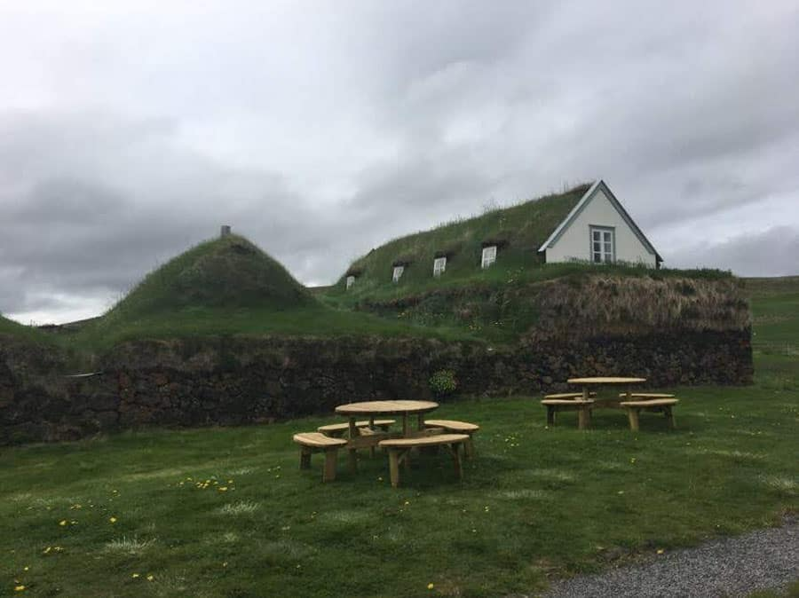 1800s Icelandic turf house on Adventures by Disney Iceland vacation