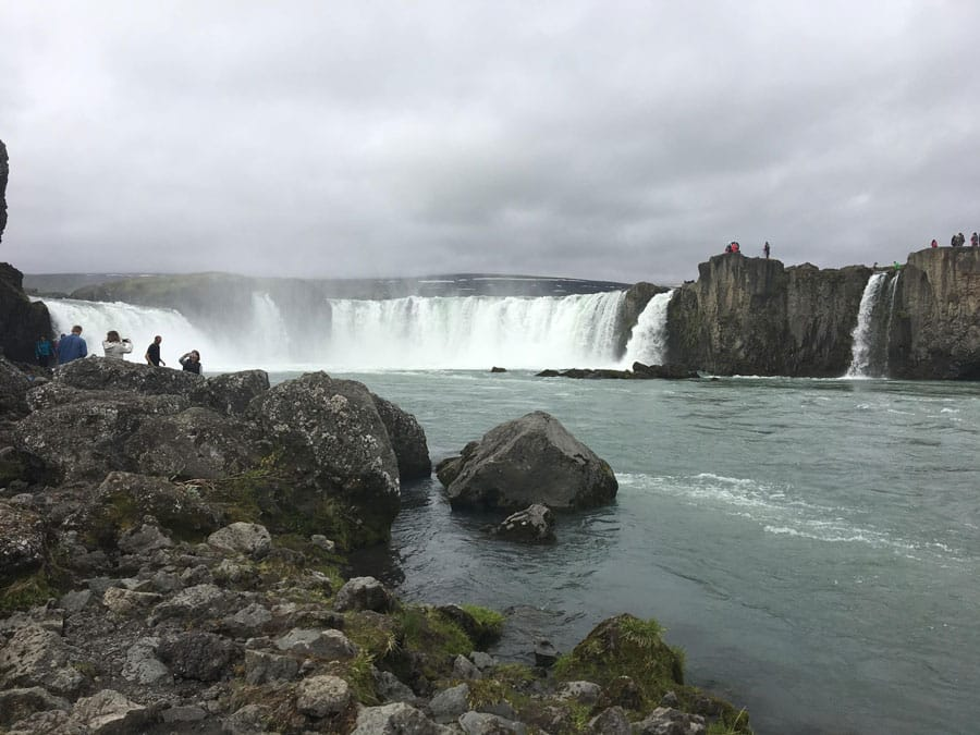 Goðafoss Waterfall on Adventures by Disney Iceland vacation