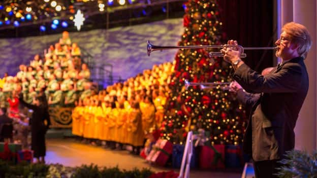 candlelight processional at epcot - Christmas Packages
