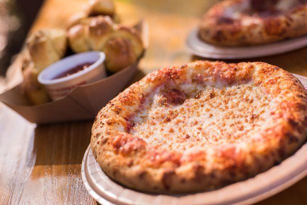 Cheese Pizza at Pizzafari at Disney's Animal Kingdom