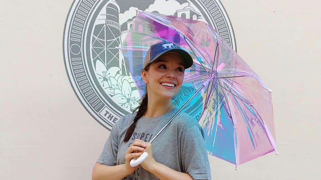 Iridescent Umbrella from Sugarboo & Co. (Disney Springs Town Center)