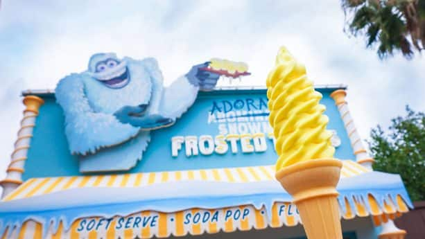 It's Lemon! Cone at Adorable Snowman Frosted Treats at Disney California Adventure Park