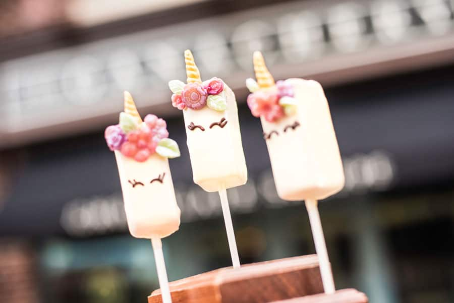Unicorn Ganache Pop at The Ganachery at Disney Springs