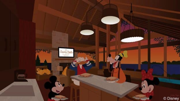 Disney Doodle: First Anniversary of Copper Creek Villas & Cabins