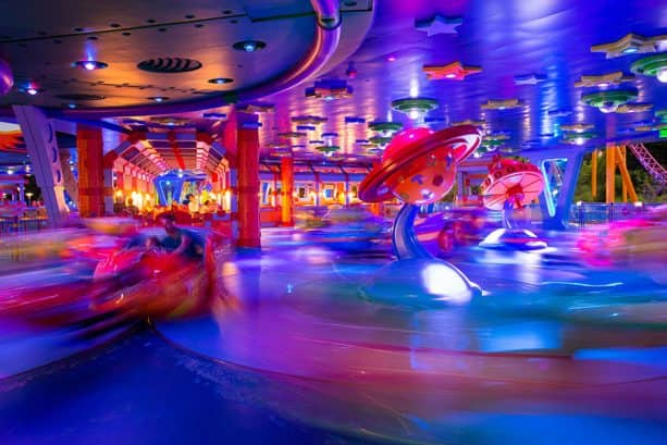 Alien Swirling Saucers, at Toy Story Land
