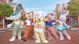 Duffy, Cookie and Friends at Hong Kong Disneyland