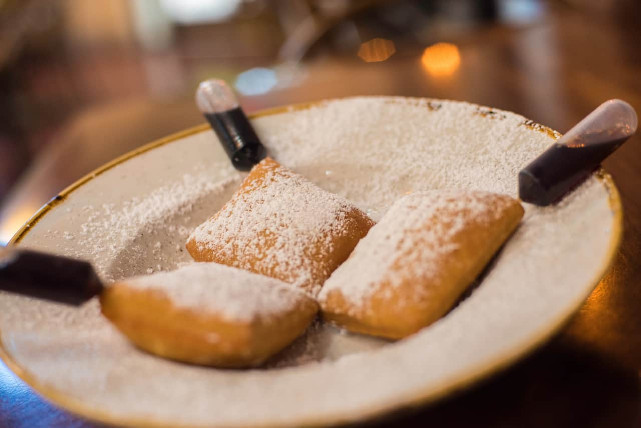 Baton Rouge Beignets at Scat Cat's Club at Disney's Port Orleans Resort – French Quarter