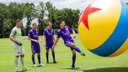 Orlando City Soccer Club Takes On Toy Story Land-Inspired Drills