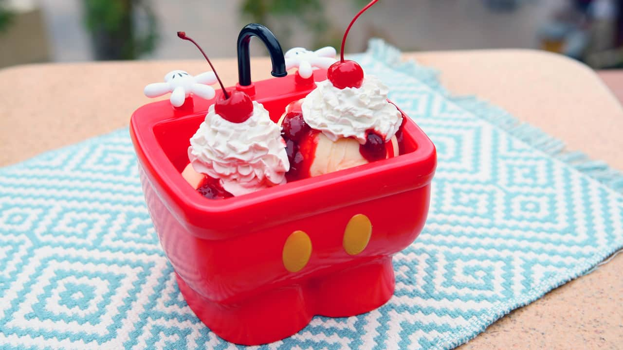 Mickey's Kitchen Sink Sundae at Disney Parks