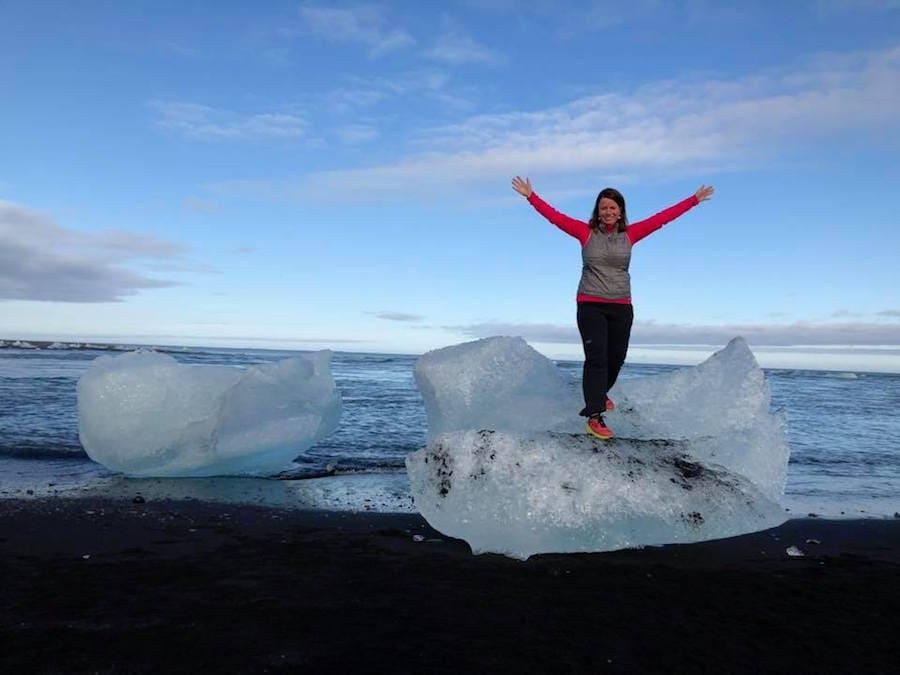Traveler taking photo on Adventures by Disney Iceland Vacatio