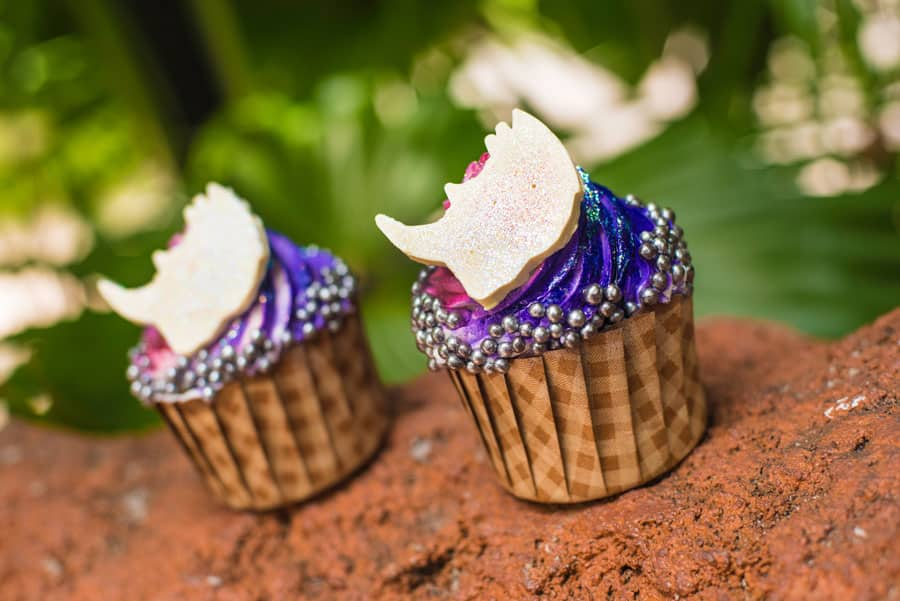 Iridescent Rhino Cupcake at The Mara at Disney's Animal Kingdom Lodge