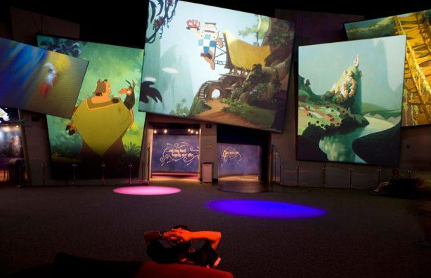 Disney Animation Building in Disney California Adventure park