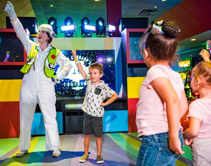 Pixar Play Zone at Disney's Contemporary Resort