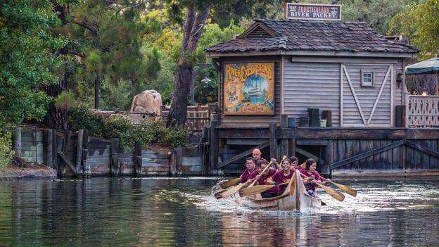 Cast Member Canoe Races at the Disneyland Resort