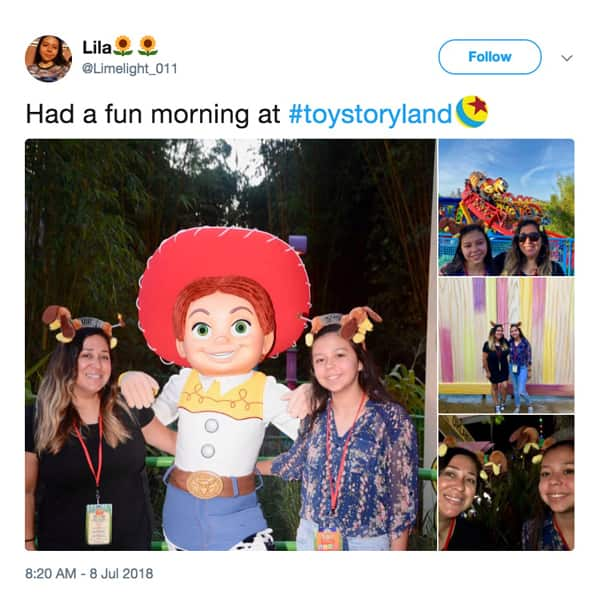 Disney Parks Blog Toy Story Land Celebration Tweet
