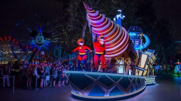 The Incredibles Float at Disney California Adventure