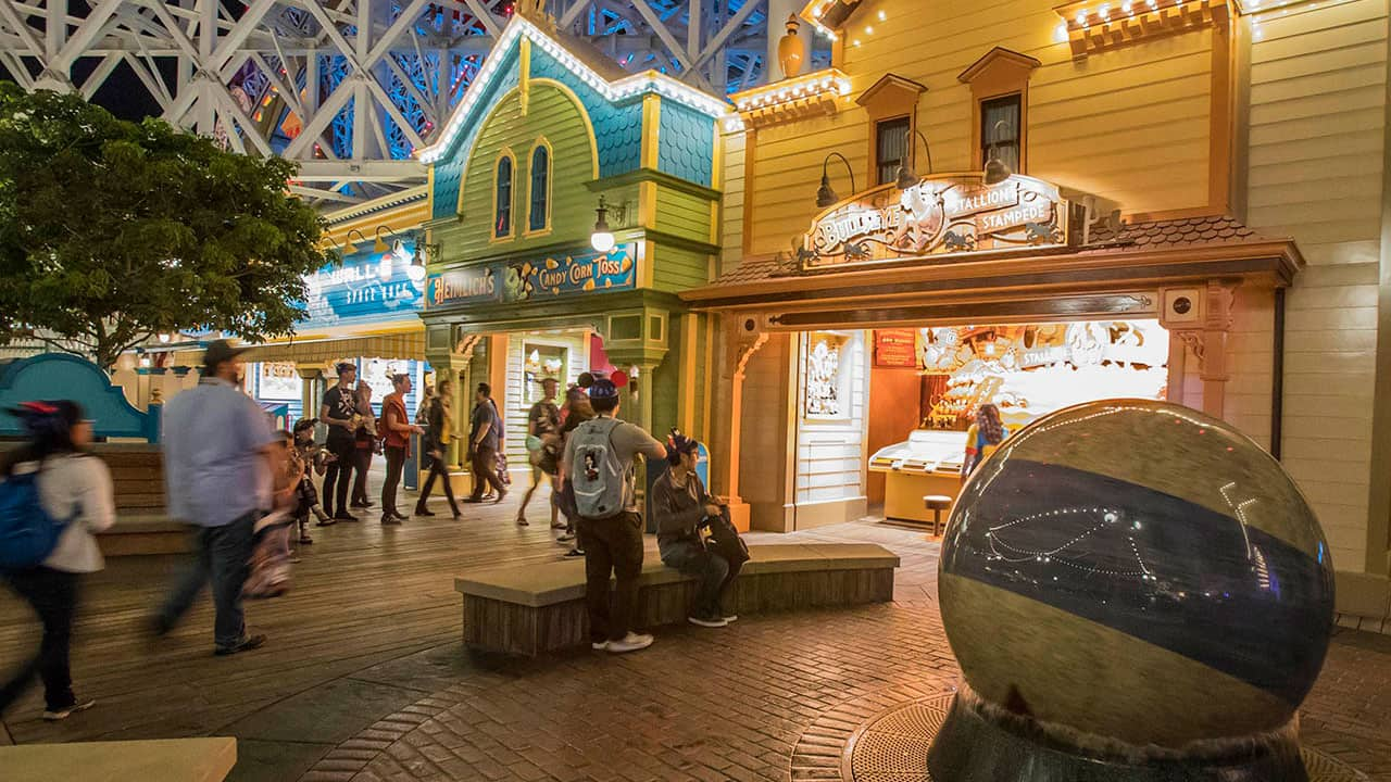 Step Right Up To The Games Of Pixar Pier In Disney