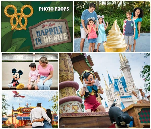 Photopass photo opportunities at Magic Kingdom Park