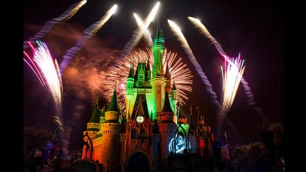 Happy HalloWishes Fireworks at Mickey's Not So Scary Halloween Party