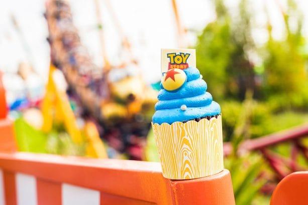 Toy Story Land Cupcake at Disney's Hollywood Studios