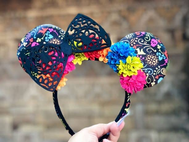 Día de los Muertos-inspired Ears at Walt Disney World Resort