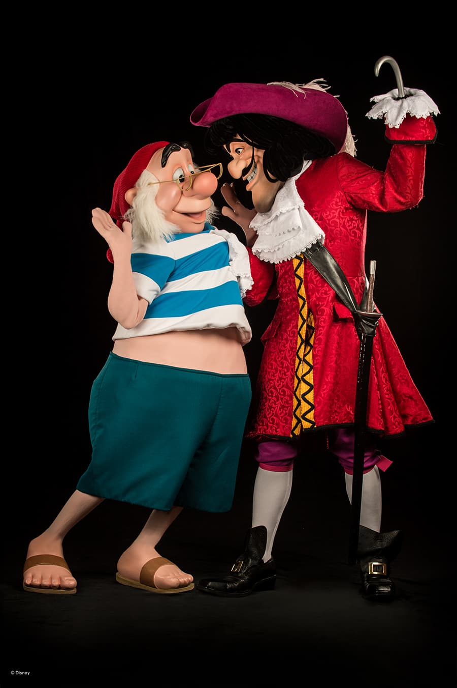Meet Hook and Mr. Smee Photopass