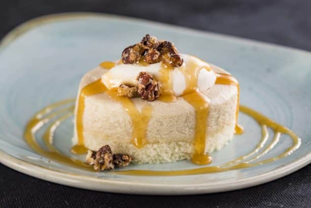 Maple Bourbon Cheesecake at The Cheese Studio Marketplace for the Epcot International Food & Wine Festival