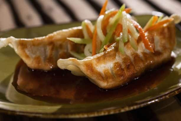 Chicken Dumplings at the China Marketplace for the Epcot International Food & Wine Festival
