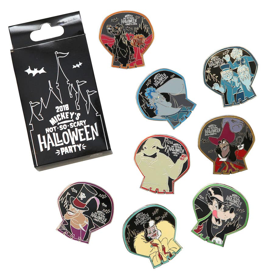 Halloween-Inspired Disney Pins