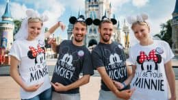 Identical Twin Couples Honeymoon at Walt Disney World