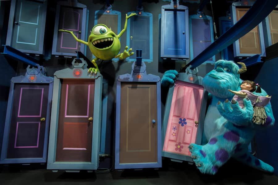 Look Closer Monsters Inc Mike And Sulley To The Rescue At Disney California Adventure Park Disney Parks Blog