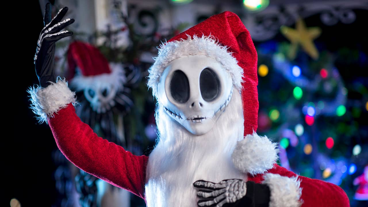 meet jack skellington during mickeys very merry christmas party - Images For Christmas