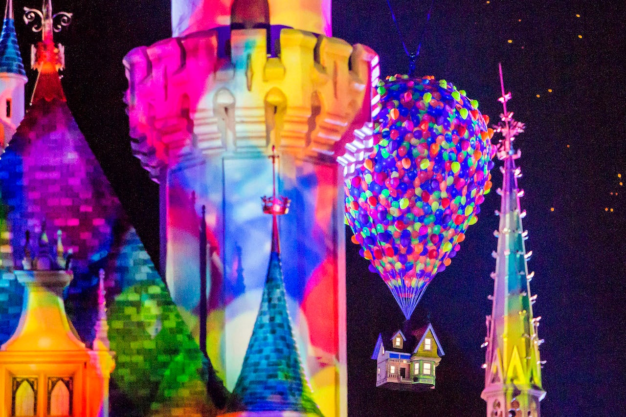 'Together Forever – A Pixar Nighttime Spectacular' at Disneyland Park