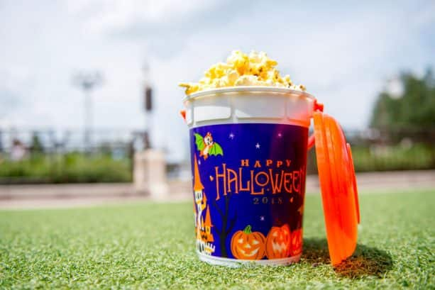 Popcorn Buckets at Mickey's Not-So-Scary Halloween Party at Magic Kingdom Park