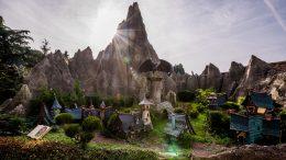 Storybook Land Canal at Disneyland Paris