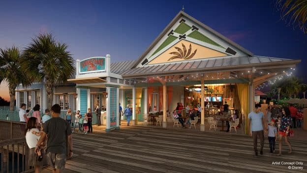 1b41bb93d65d New Details Revealed for Dining Locations at Disney s Caribbean Beach Resort