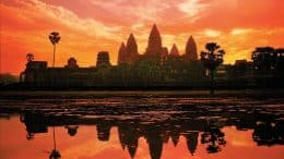 Cambodian temples on Southeast Asia Adventures by Disney Vacation Package
