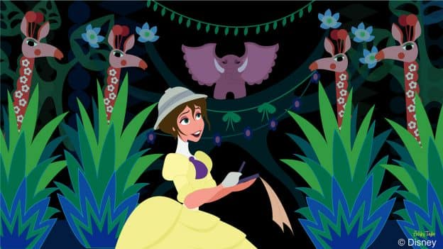 Disney Doodle: Jane Visits 'it's a small world'