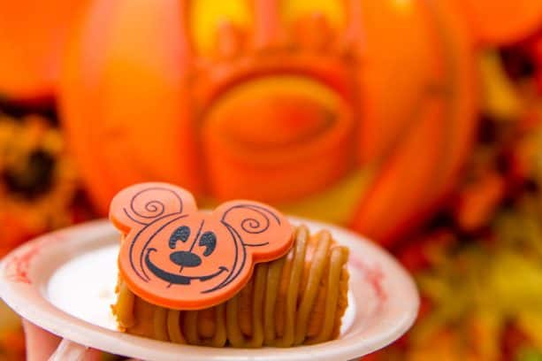 Pumpkin Cheesecake at Main Street Bakery for Mickey's Not-So-Scary Halloween Party at Magic Kingdom Park