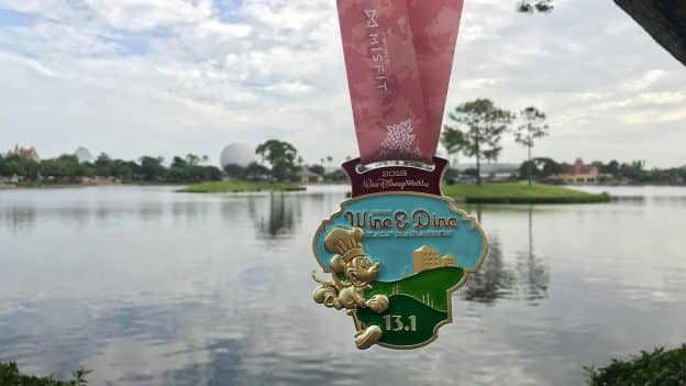 2018 Disney Wine & Dine Half Marathon Weekend Medal