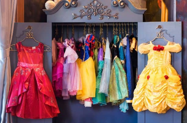 Dresses at Bibbidi Bobbidi Boutique