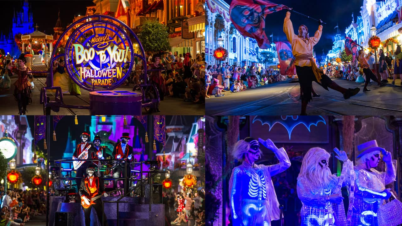 #DisneyParksLIVE: Watch The Replay of 'Mickey's Boo-To-You' Halloween Parade