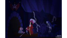 Disney Doodle: Captain Hook and Mr. Smee explore Pirates of the Caribbean