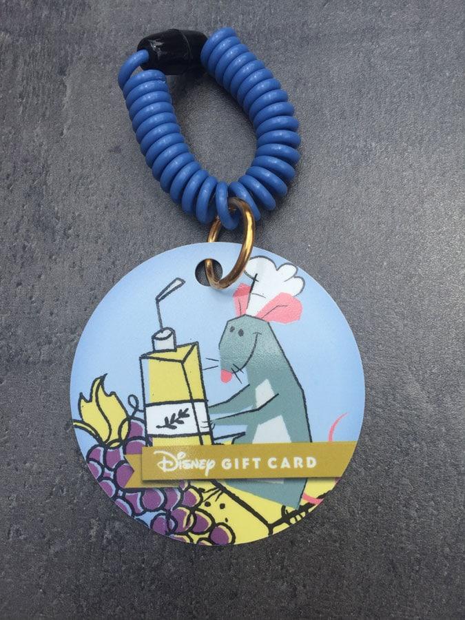 Epcot International Food & Wine Festival Disney Gift Card - Blue
