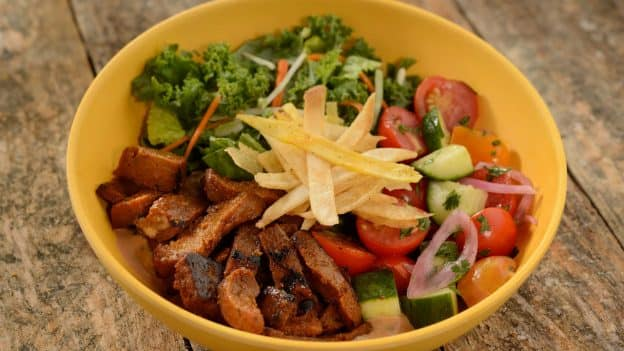 Island Bowl with Vegan Chipotle Seitan at Centertown Market at Disney's Caribbean Beach Resort