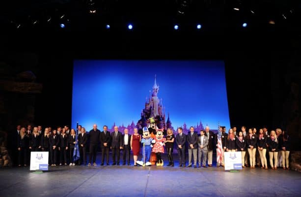 Golf's Rising Stars at Disneyland Paris Hosts for Junior Ryder Cup