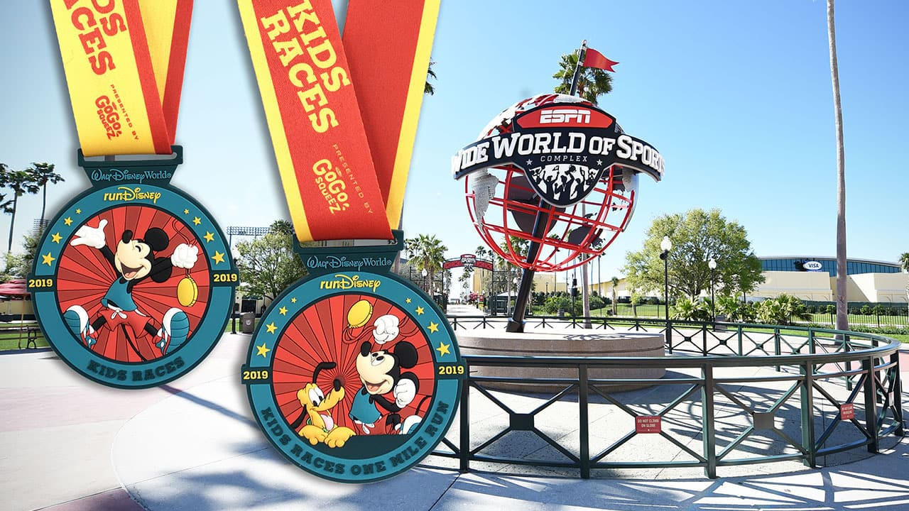 2018 runDisney Kids Races Finisher Medals